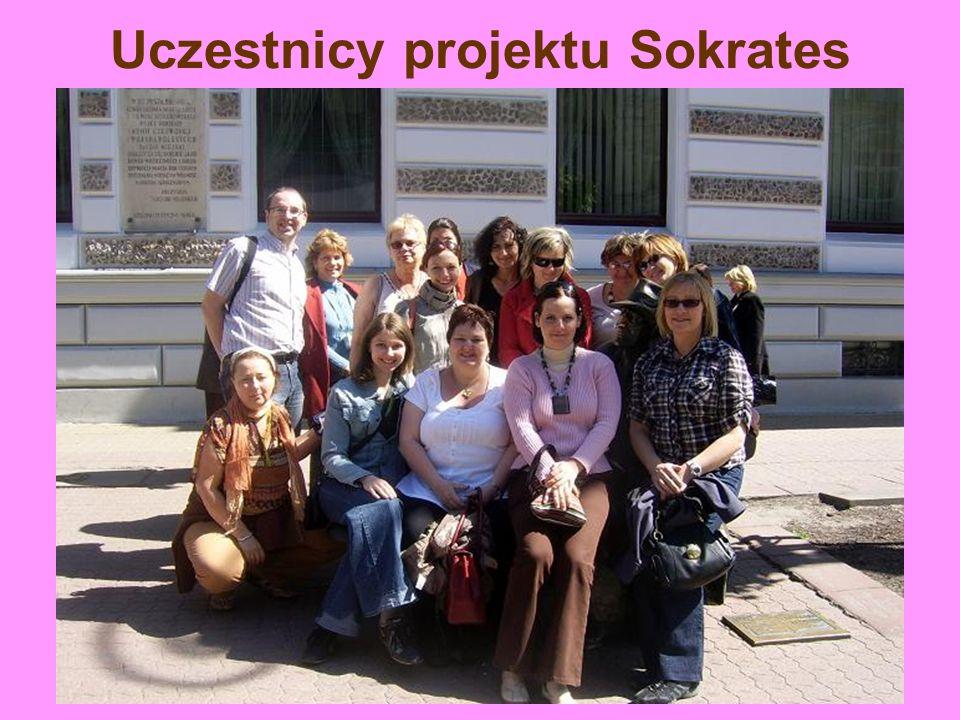 Uczestnicy projektu Sokrates