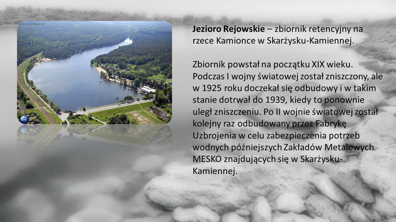 Jezioro Rejowskie – zbiornik retencyjny na rzece Kamionce w Skarżysku-Kamiennej.