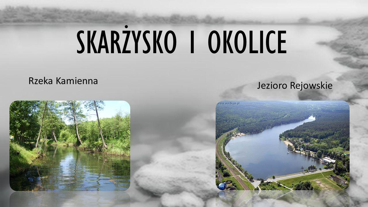SKARŻYSKO I OKOLICE Rzeka Kamienna Jezioro Rejowskie