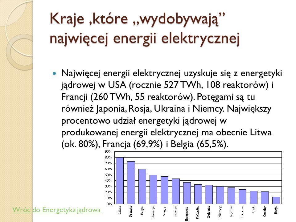 Co to jest energetyka jądrowa Energetyka jądrowa to zespół zagadnień związanych z uzyskiwaniem na skalę przemysłową energii z rozszczepienia ciężkich