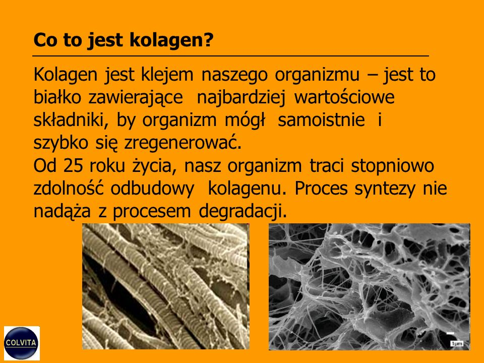 Co to jest kolagen? Kolagen jest klejem naszego organizmu – jest to białko zawierające najbardziej wartościowe składniki, by organizm mógł samoistnie