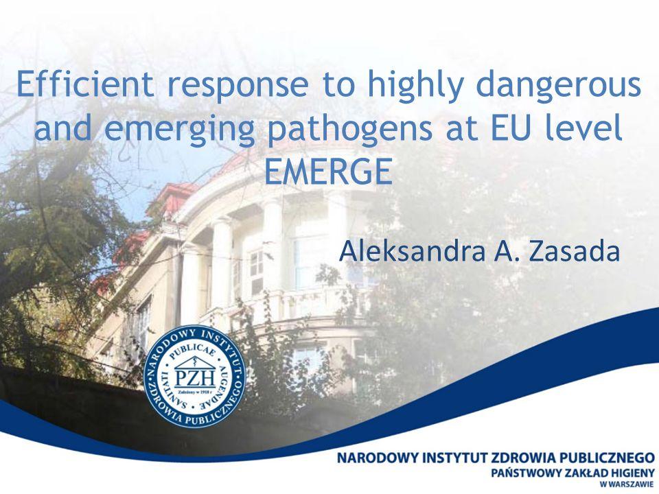 Efekty Gotowość diagnostyczna 24/7 podczas epidemii Ebola 2014-2015 Źródło: wiadomości.wp.pl