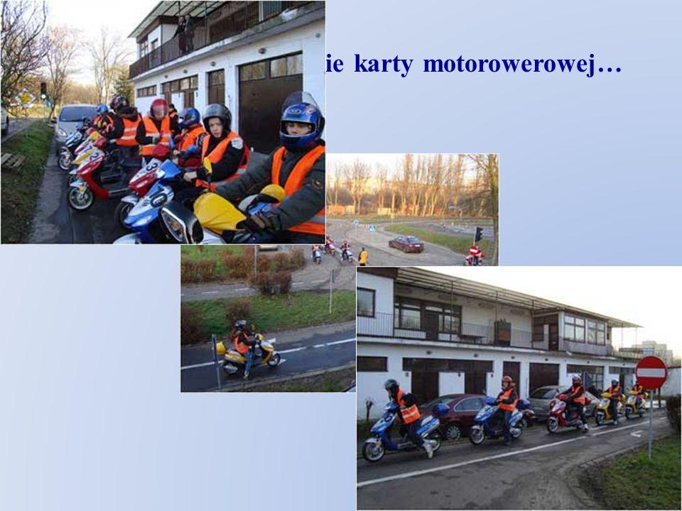 Umożliwiamy zdobycie karty motorowerowej… Motodrom…