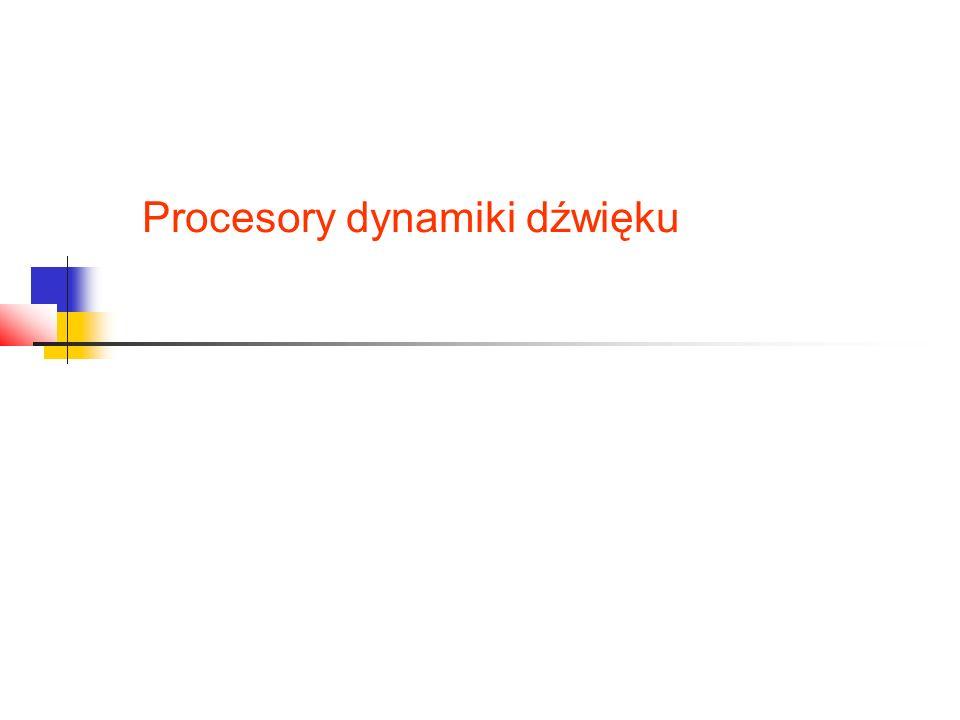 Procesory dynamiki dźwięku