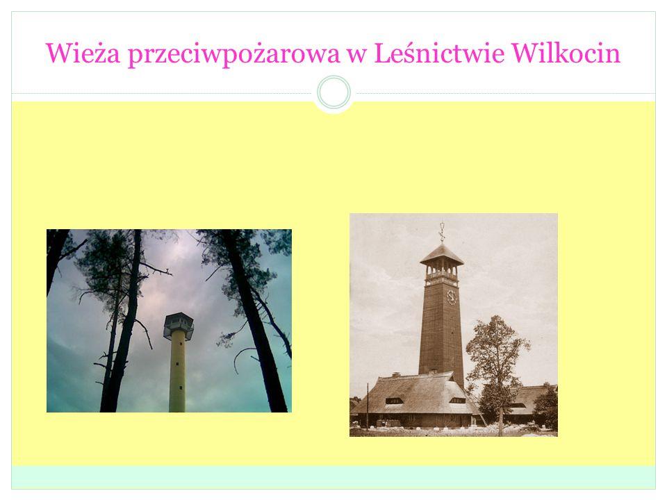 Wieża przeciwpożarowa w Leśnictwie Wilkocin