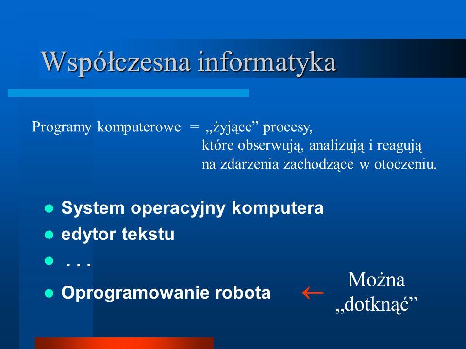 Laboratorium informatyki ? http://www.ict.pwr.wroc.pl/mindstorms DALSZE INFORMACJE...
