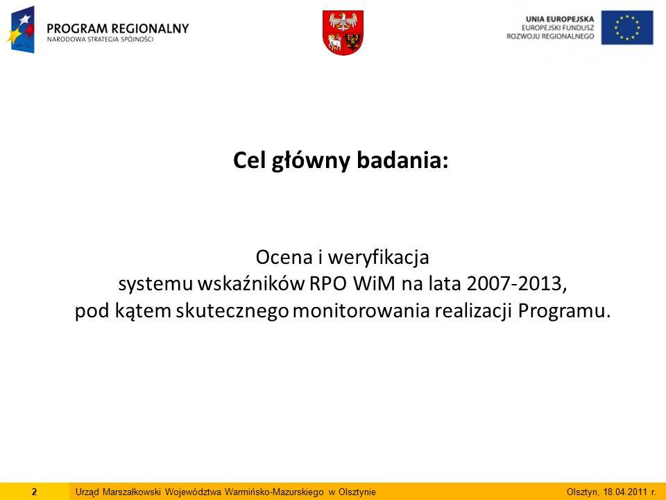 Dziękuję za uwagę Emilii Plater 1, 10-562 Olsztyn Tel.