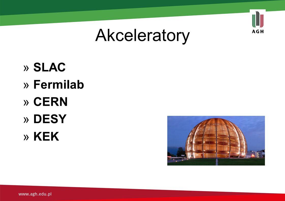 Akceleratory »SLAC »Fermilab »CERN »DESY »KEK