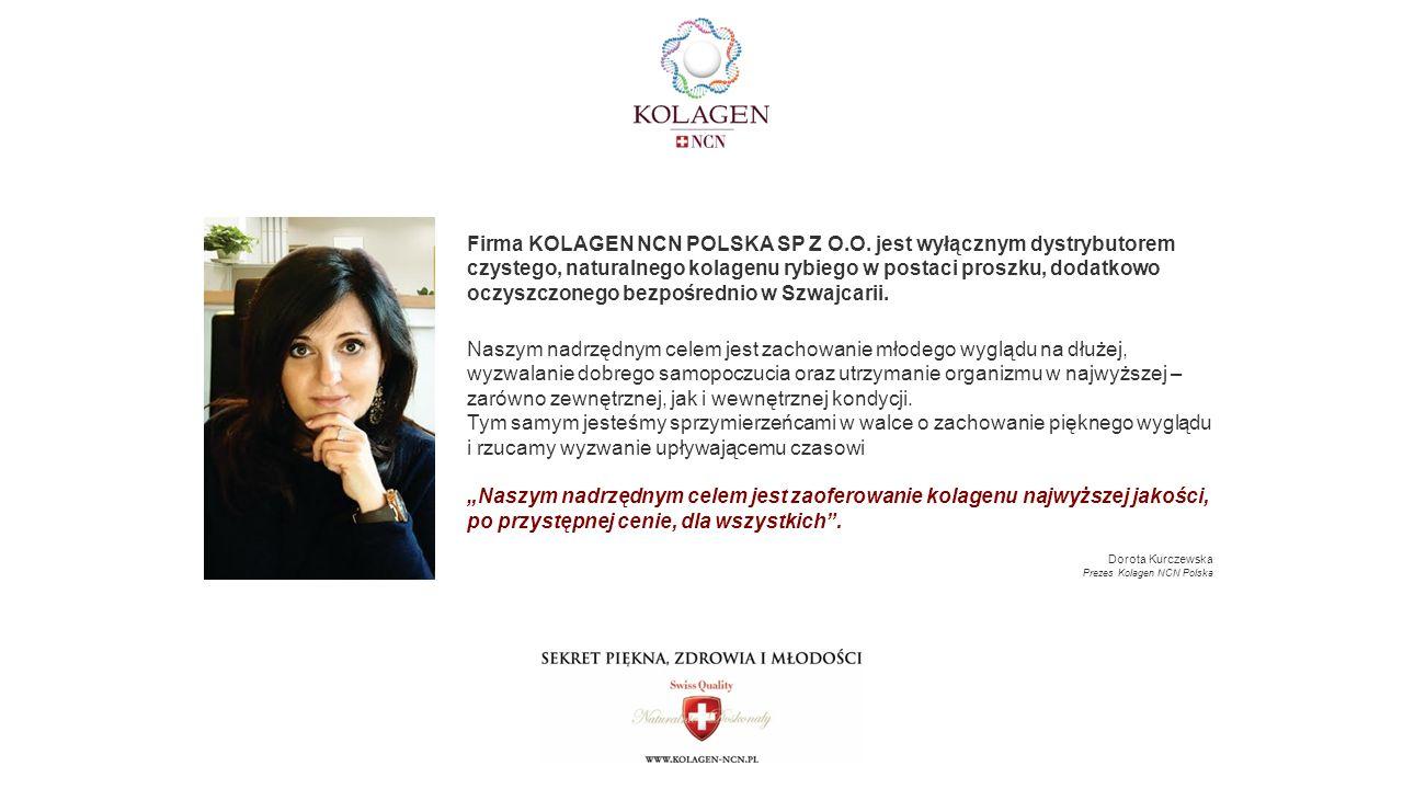 Firma KOLAGEN NCN POLSKA SP Z O.O.