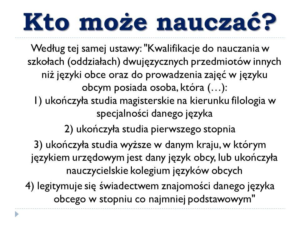 Polacy i język obcy  Polakom łatwiej jest się uczyć języków rodzimych takich jak np.