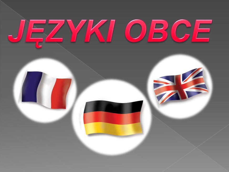 Języka Niemieckiego  Języka Francuskiego  Języka Angielskiego  Języka Włoskiego  Języka Hiszpańskiego