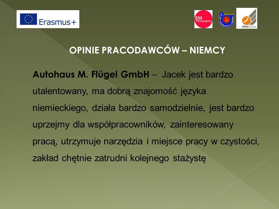 OPINIE PRACODAWCÓW – NIEMCY Autohaus M.