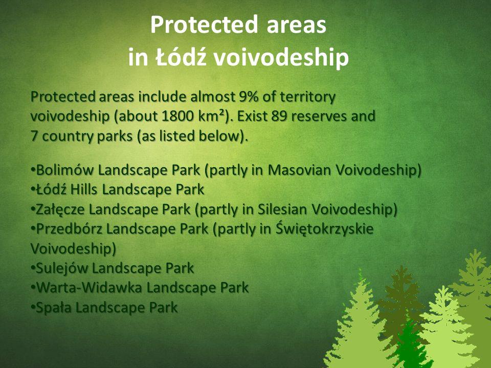Załęcze Landscape Park (Załęczański Park Krajobrazowy) It is located on Highland Woźnicko-Wieluńska near from ours locality.