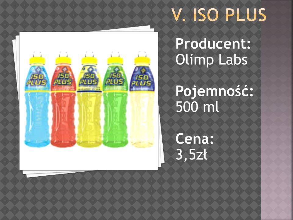 Producent: Olimp Labs Pojemność: 500 ml Cena: 3,5zł