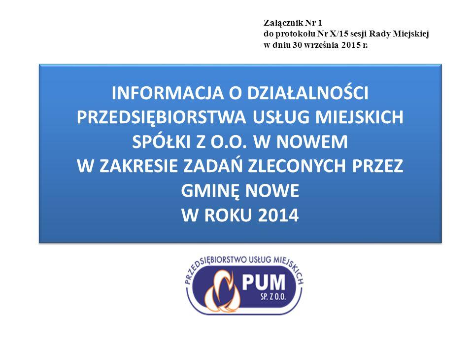 Gospodarka gminnymi zasobami mieszkaniowymi Przedsiębiorstwo Usług Miejskich Spółka z o.o.