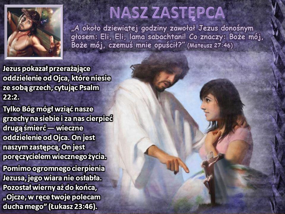 """""""I oto zasłona świątyni rozdarła się na dwoje, od góry do dołu, i ziemia się zatrzęsła, i skały popękały, i groby się otworzyły, i wiele ciał świętych, którzy zasnęli, zostało wzbudzonych (Mateusz 27:51-52) W momencie śmierci Jezusa miały miejsce dwa znaczące wydarzenia: 1.Rozdarła się zasłona miejsca najświętszego."""