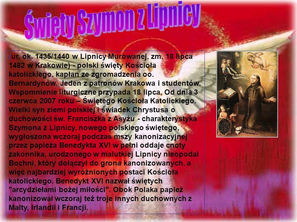 (ur. ok. 1435/1440 w Lipnicy Murowanej, zm.