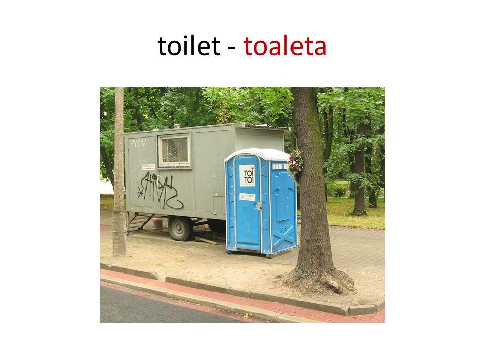 toilet - toaleta