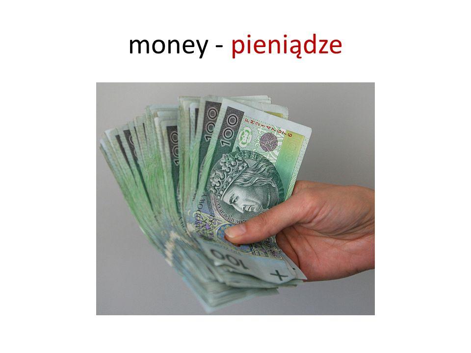money - pieniądze