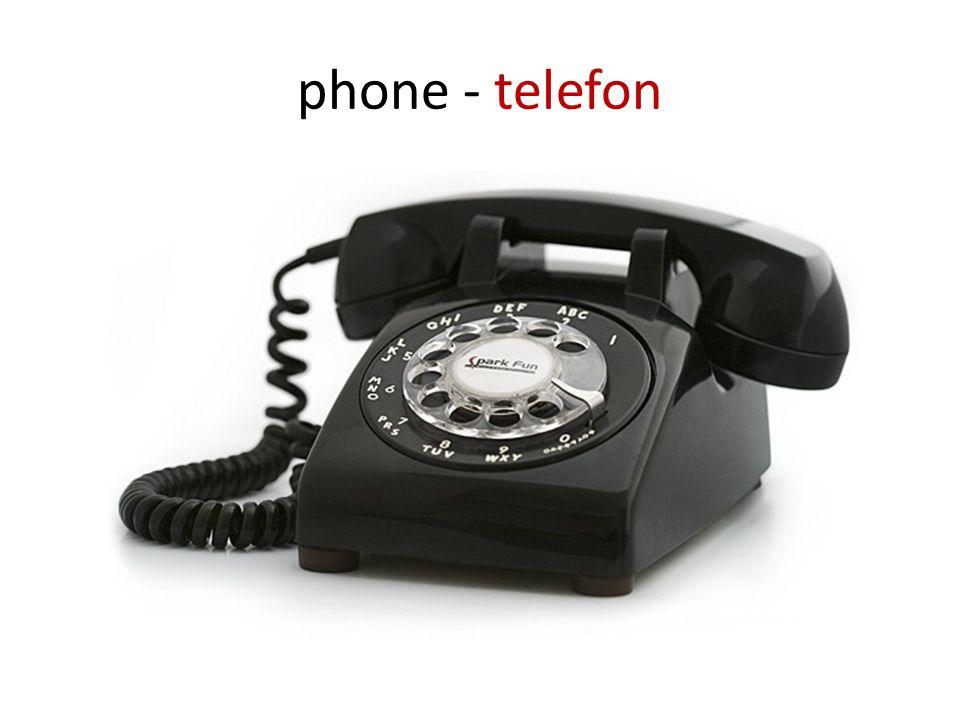 phone - telefon