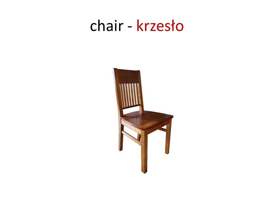 chair - krzesło