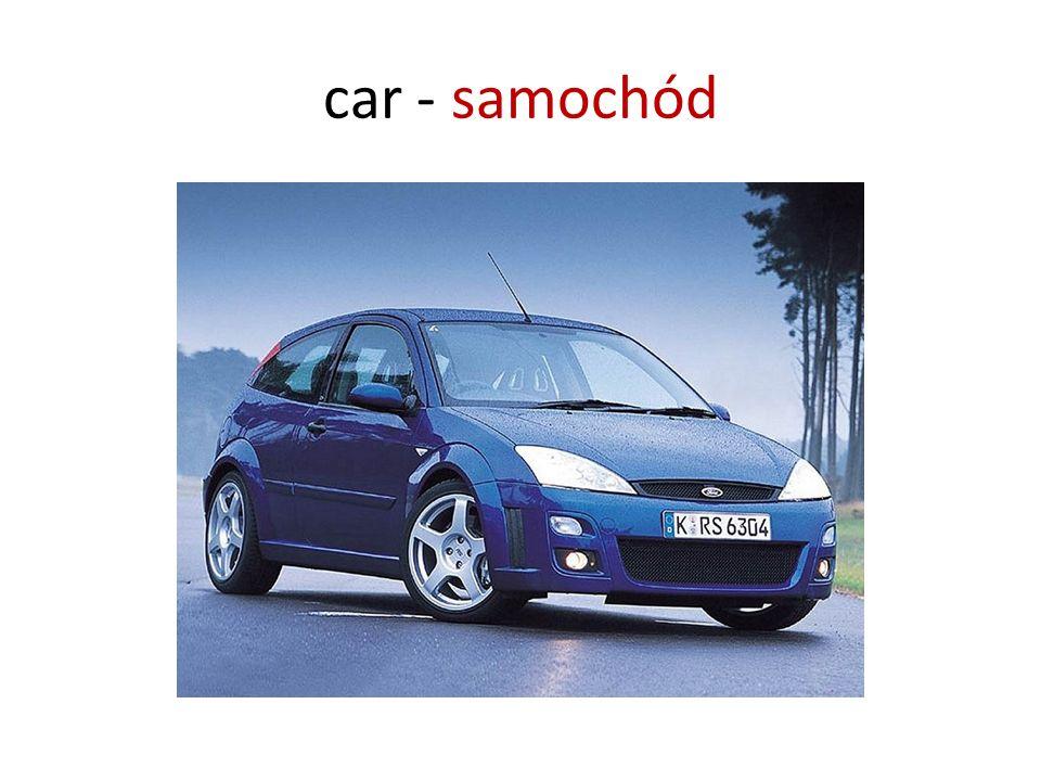 car - samochód