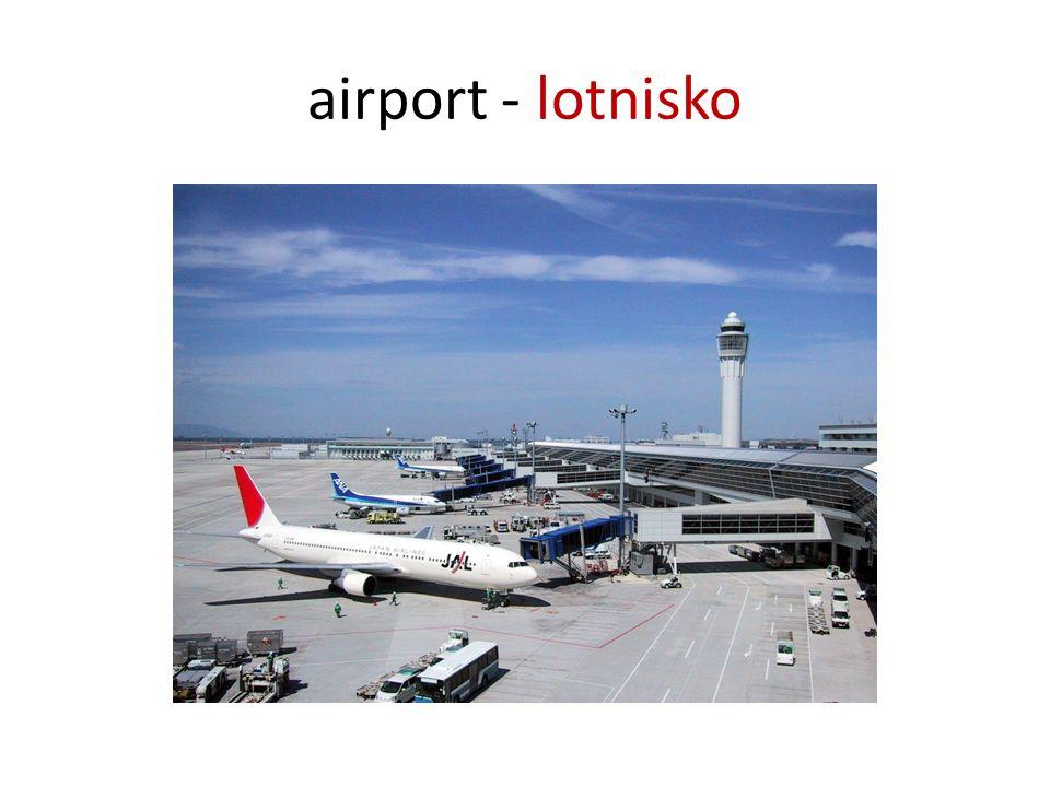 airport - lotnisko