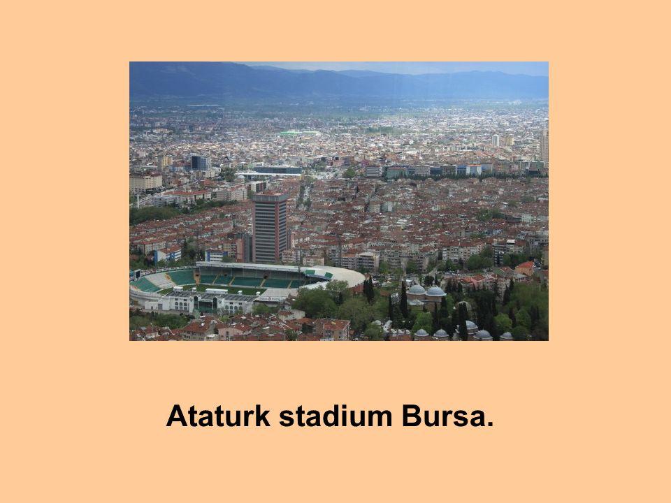 Ataturk stadium Bursa.