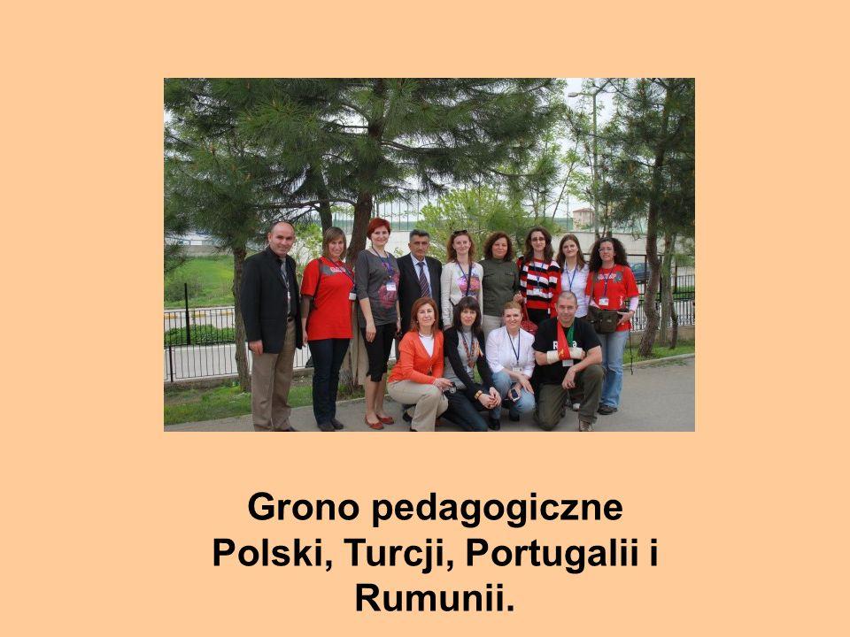 Grono pedagogiczne Polski, Turcji, Portugalii i Rumunii.