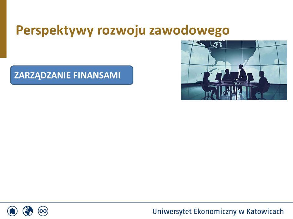 Perspektywy rozwoju zawodowego ZARZĄDZANIE FINANSAMI