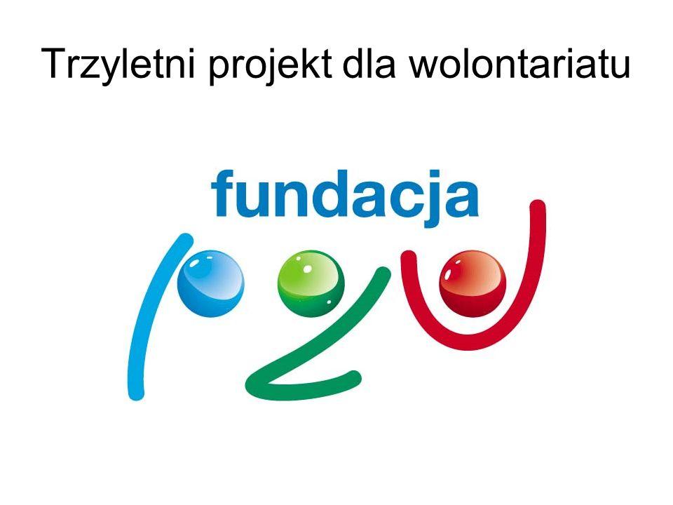 Trzyletni projekt dla wolontariatu