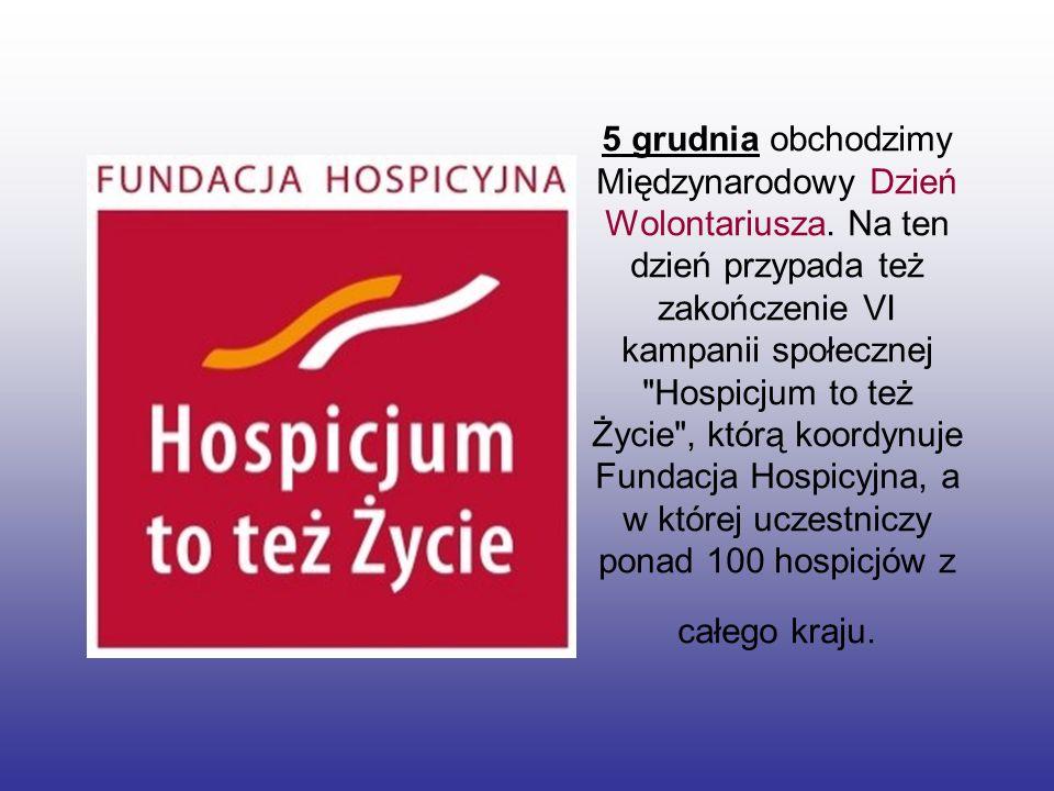 Hospicjum - instytucja opieki paliatywnej funkcjonująca w ramach systemu opieki zdrowotnej.