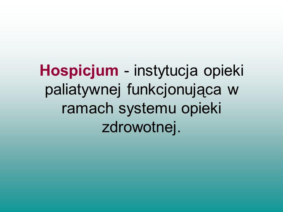 Jej celem jest prowadzenie działalności charytatywnej, edukacyjno– szkoleniowej i marketingowej związanej z pozyskiwaniem środków na opiekę hospicyjną i szkolenie pracowników służby zdrowia, wolontariuszy oraz pacjentów i ich rodzin.