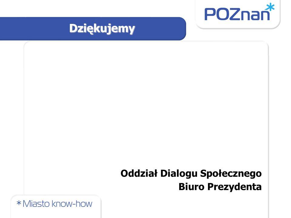 Oddział Dialogu Społecznego Biuro Prezydenta Dziękujemy