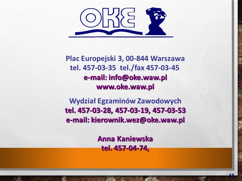 Plac Europejski 3, 00-844 Warszawa tel.