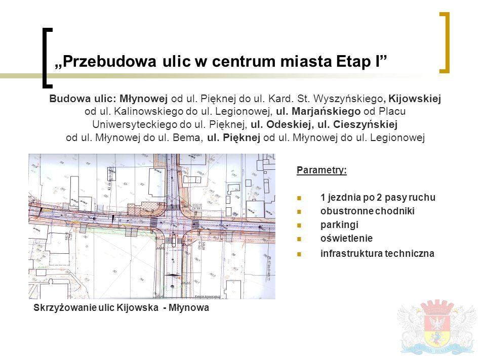 Budowa ulicy Brzoskwiniowej na odc.od ul. Mickiewicza do ul.