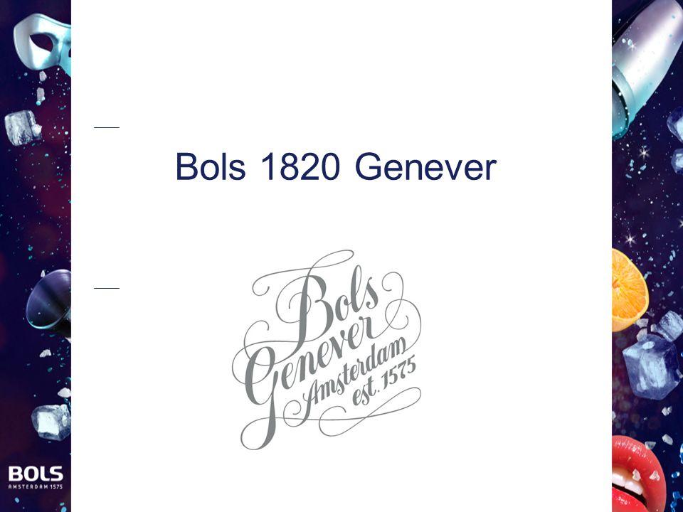 Bols 1820 Genever