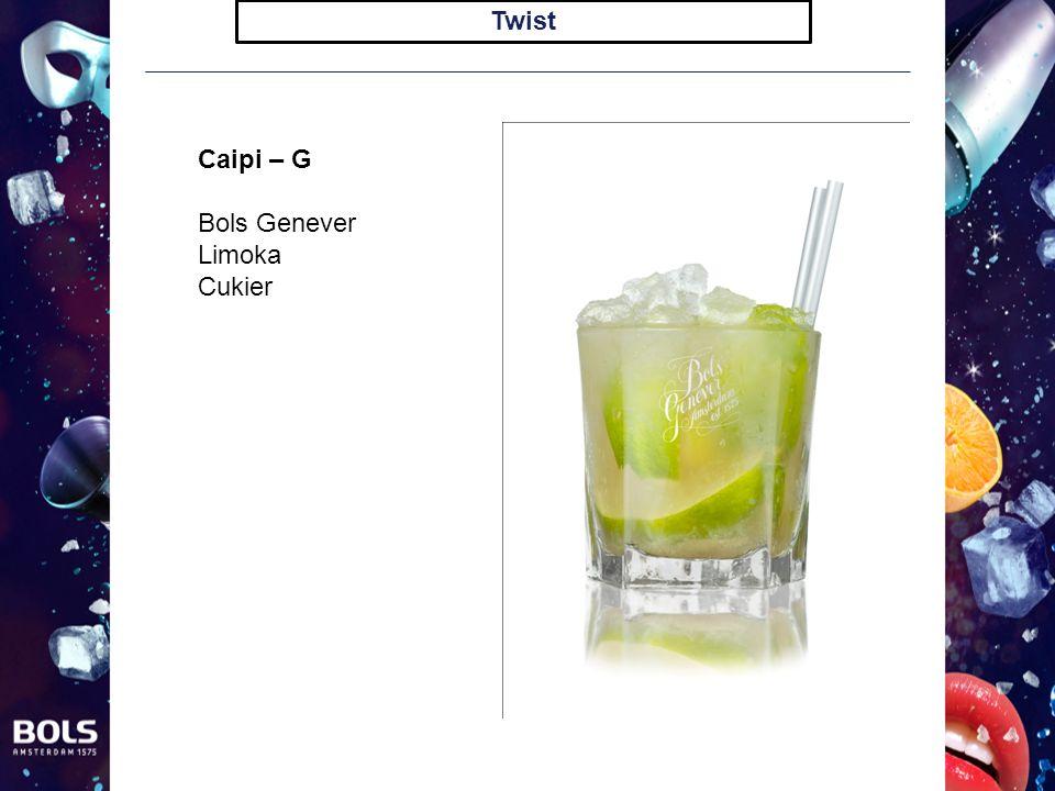 Twist Caipi – G Bols Genever Limoka Cukier