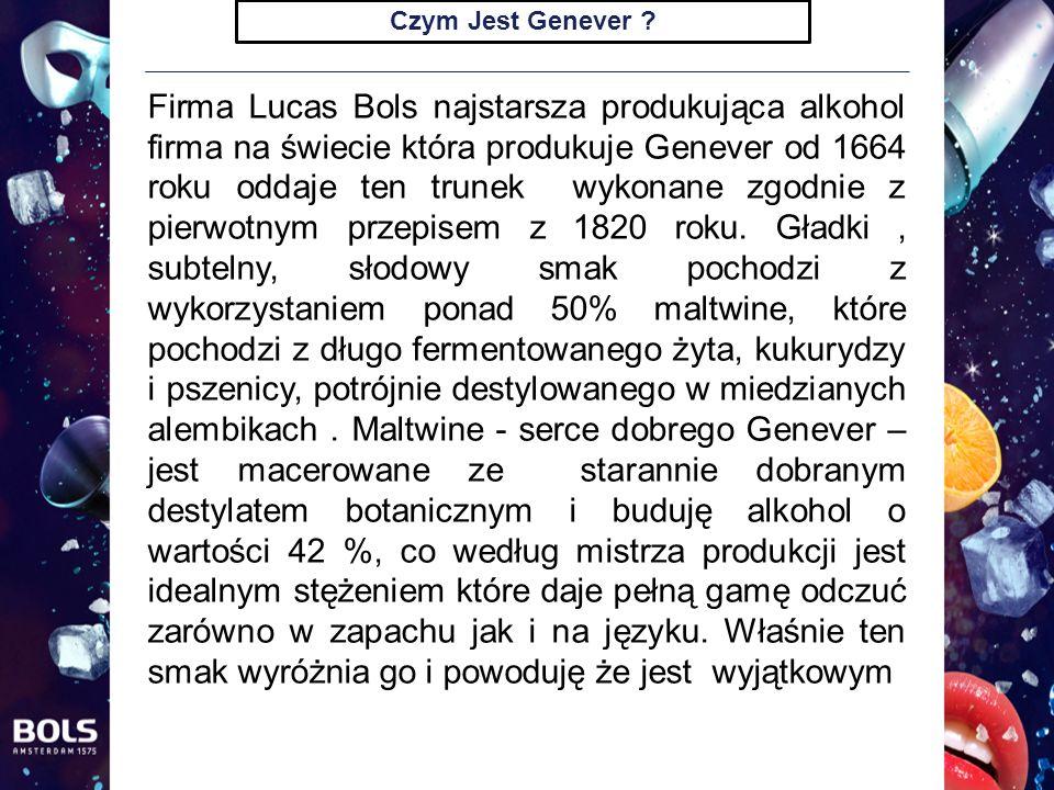Czym Jest Genever .