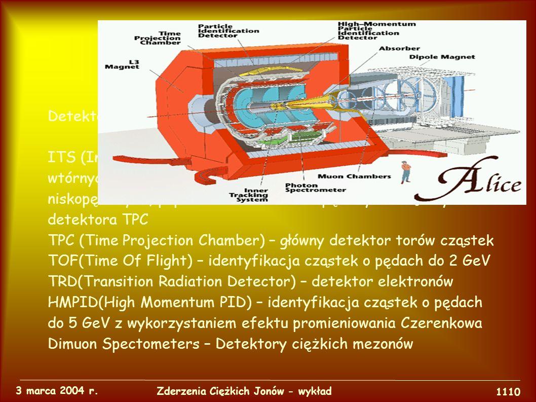 Eksperymenty 3 marca 2004 r.