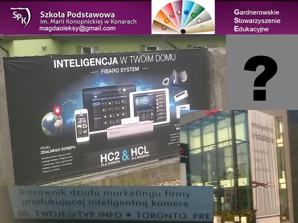 magdaoleksy@gmail.com O tym, jak inteligencja poszła do szkoły… Szkolna segregacja G ardnerowskie S towarzyszenie E dukacyjne