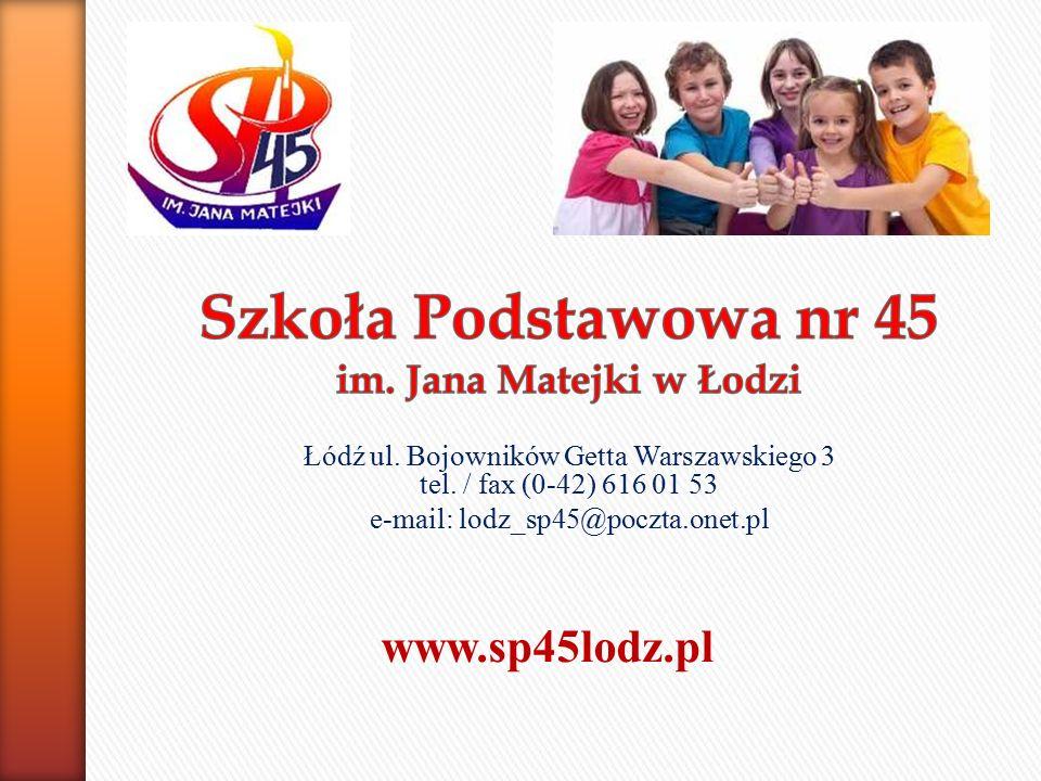Łódź ul. Bojowników Getta Warszawskiego 3 tel.