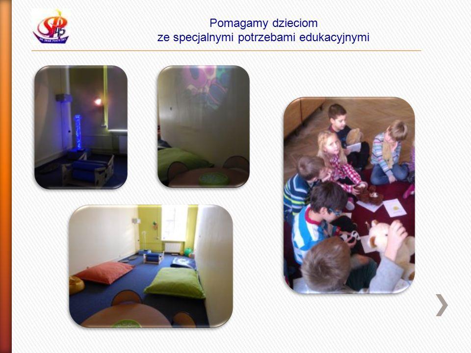 Pomagamy dzieciom ze specjalnymi potrzebami edukacyjnymi