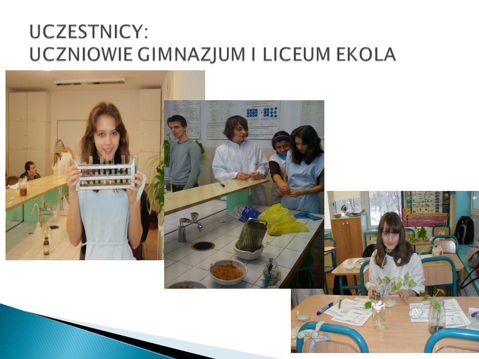  Krystyna Rapacz – nauczyciel chemii  Anna Domaradzka-Bocian – nauczyciel biologii