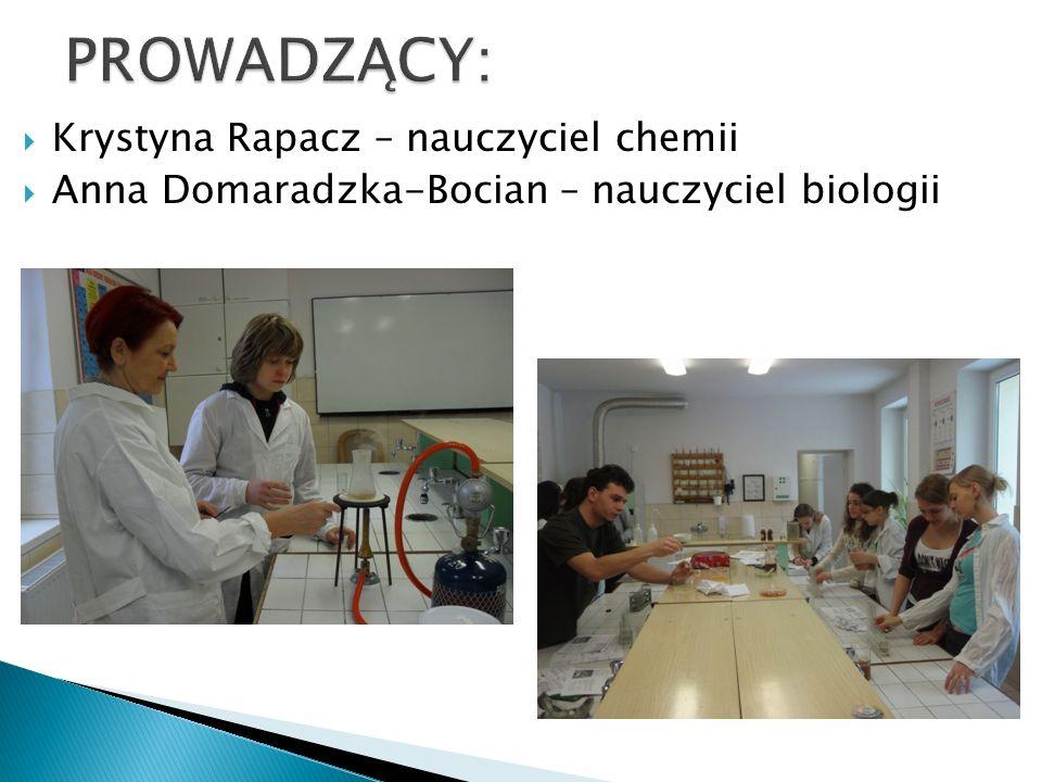 TRZYLETNI CYKL ZAJĘĆ Szkolny Ośrodek Badania Środowiska (2007-2015) WODA GLEBA ŻYWNOŚĆ