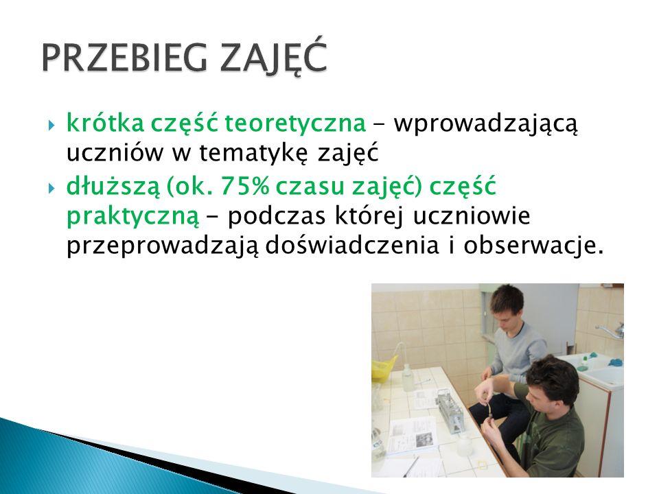 prezentacji projektu (w programie PowerPoint)  egzamin ustny sprawdzającego stopień przyswojenia wiedzy i rozumienia zagadnień jakimi się zajmowaliśmy.