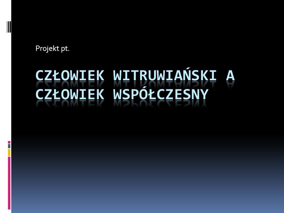 Projekt pt.