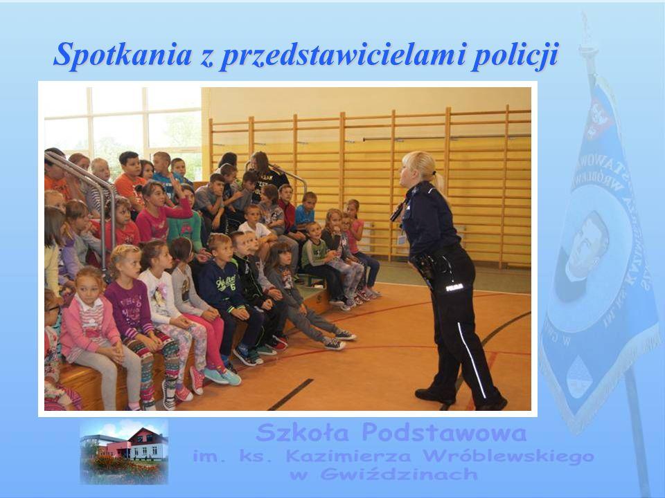 Spotkania z przedstawicielami policji