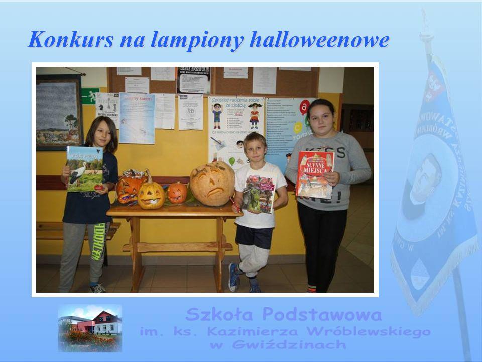 Konkurs na lampiony halloweenowe