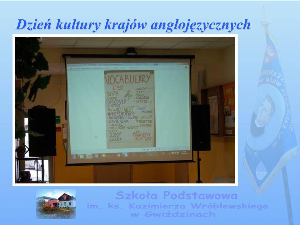 Dzień kultury krajów anglojęzycznych